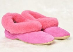 Draper of Glastonbury (Sheepskin slippers)