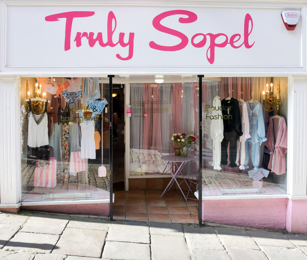 truly sopel knickers boutique frome